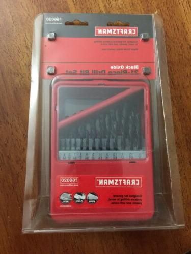 **BRAND NEW** Craftsman 21-piece Drill Set/designed For Wood