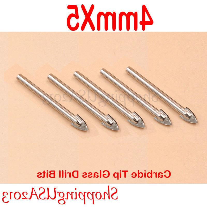 Diamond tool Drill Bit 5 x 4mm Carbide Tip hole saw Alloy Mi