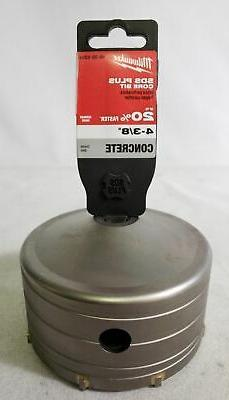 Milwaukee 48-20-5255 4-3/8 x 2-Inch SDS-Plus Core Carbide Ro