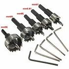 Mohoo 5PCS 16-30MM HSS Drill Bit Hole Saw Set Stainless High