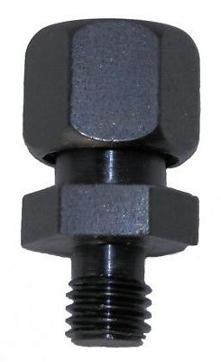 """Tight Fit Drill Bit 1/4"""" Round Hole Collet Threaded Shank 00"""