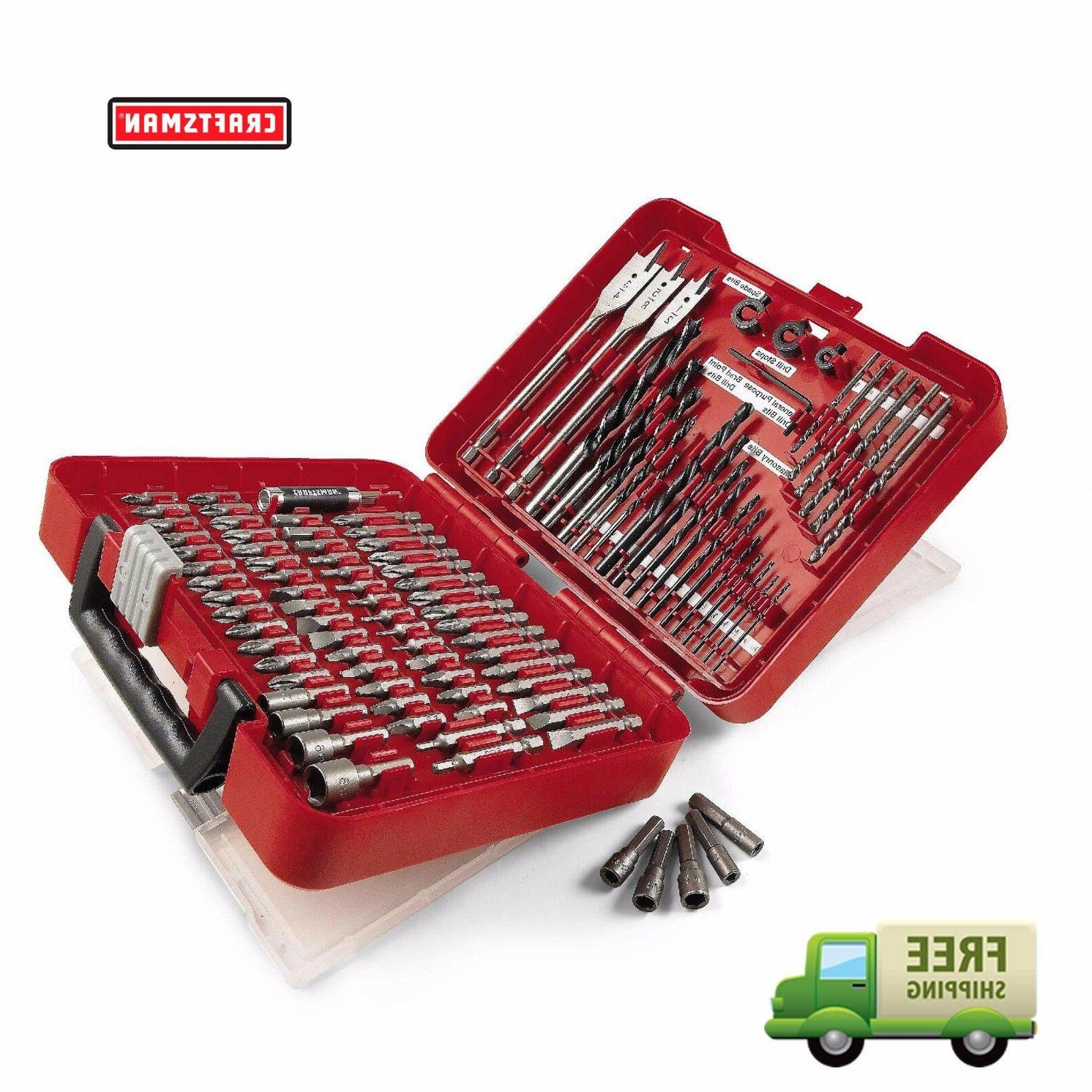 New Kit Drill Driver Screw Tools Case 31639