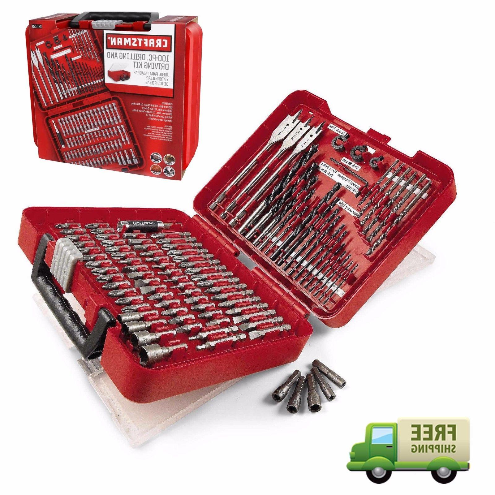 New Craftsman Accessory Kit Set Driver Case 31639