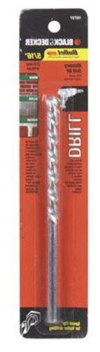 Black & Decker 16737 Masonry Bits, 6-Inch by 5/16-Inch