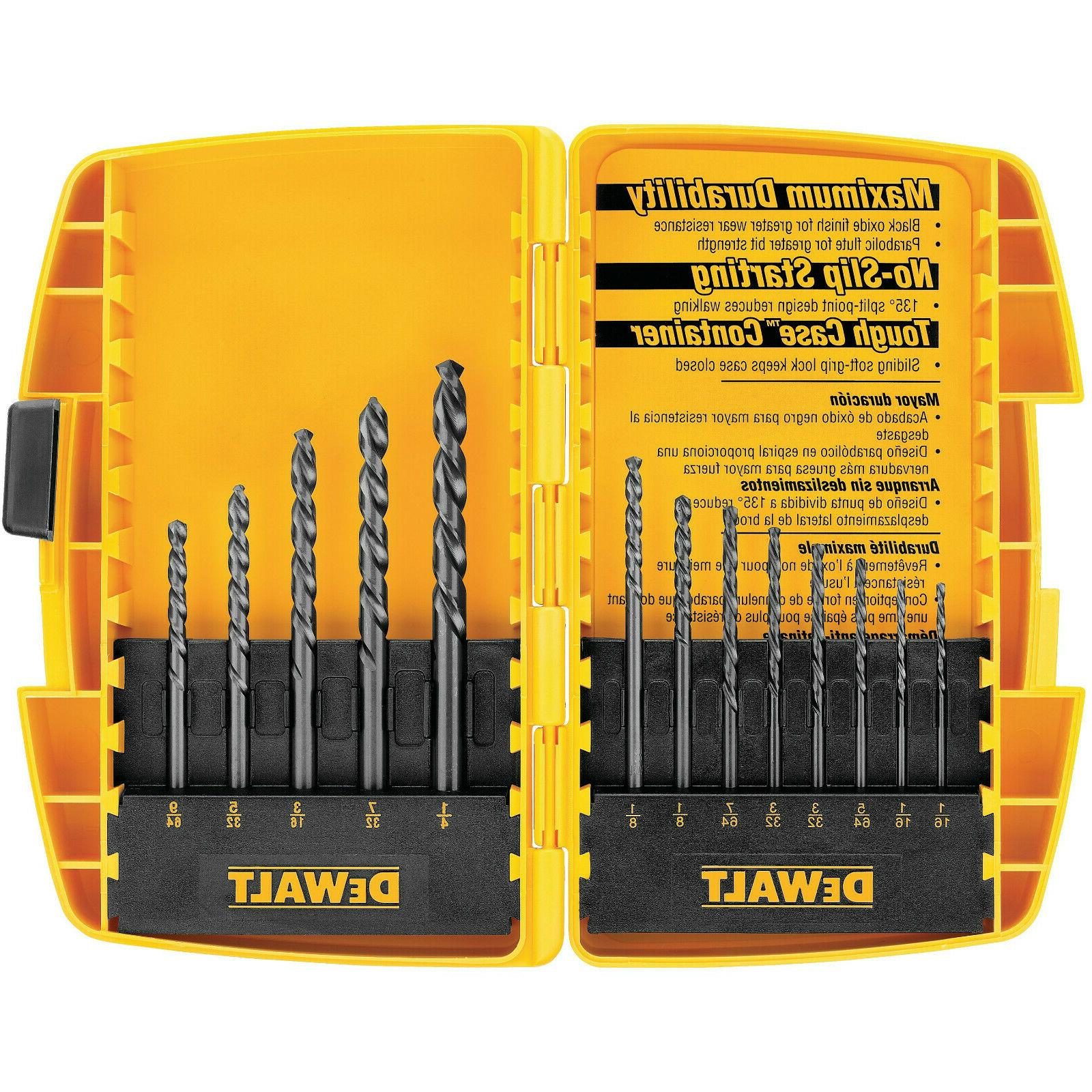 black oxide drill bit set