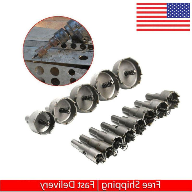 Carbide Tip TCT Bit Hole Saw Stainless Cutter
