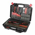 Drill Bit Set, EnerTwist 246-Pieces Drilling and Driving Acc