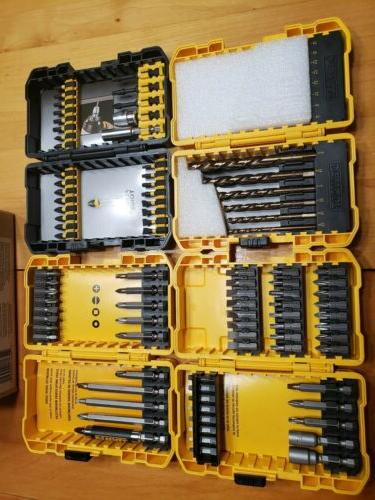 dwa2fts100 screwdriving and drilling set 100 piece