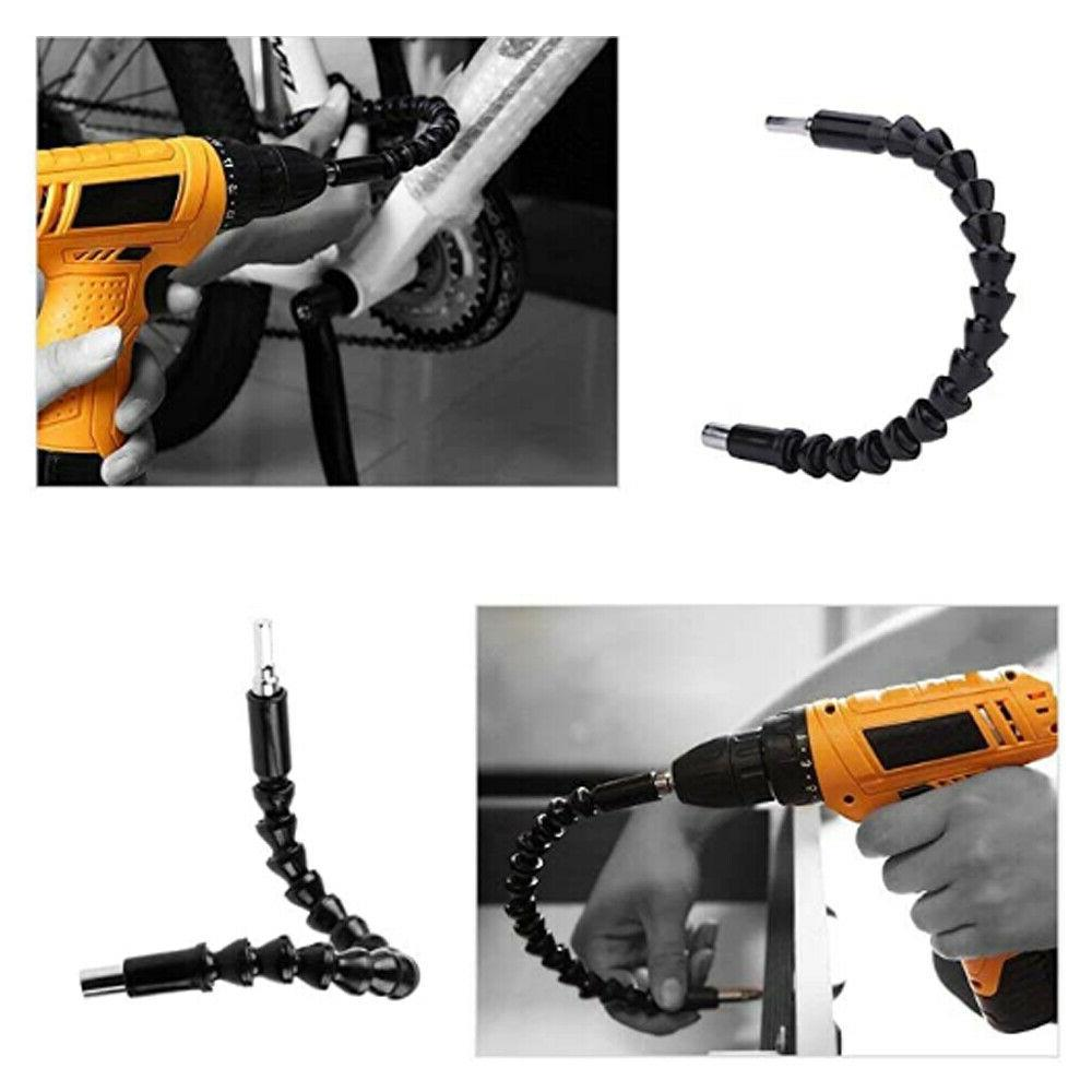 Flexible Extension Bits Screwdriver Drill Bit Holder Connecting Link Tool
