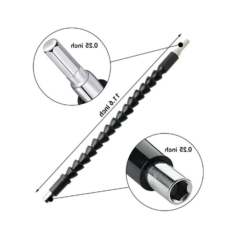Flexible Drill Extension Bits Screwdriver Connecting Tool