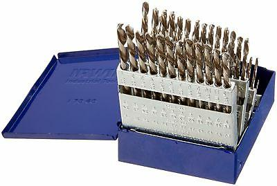 Hanson HAN80181 Wire Gauge Number Drill Bit Set - 60 Piece