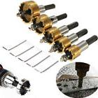 Hole Saw Tooth Kit HSS Drill Bit Cutter Tool For Metal Wood