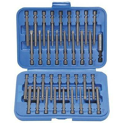 36 PC LONG SCREWDRIVER TIP BIT SET FOR ELECTRIC DRILL SCREW