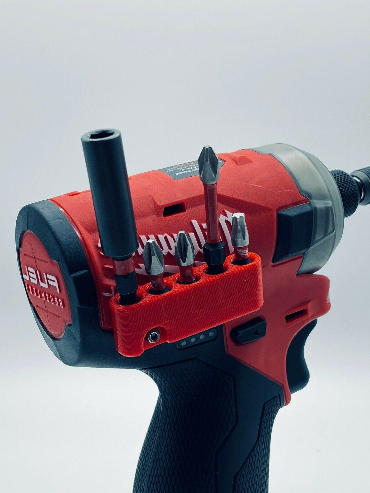 Magnetic Bit Holder 🧲 for Milwaukee M12 Surge Drill Drive