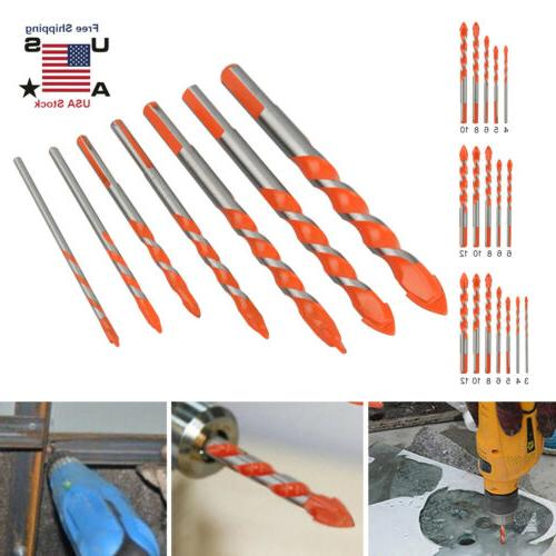 multifunctional ultimate drill bits ceramic glass punching