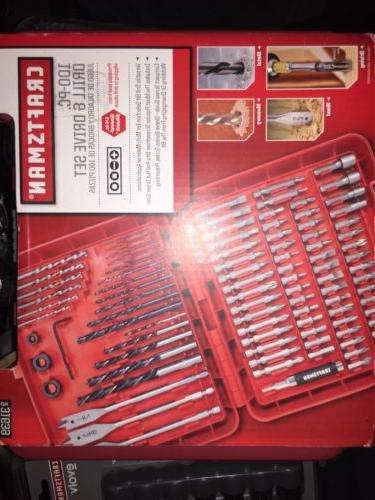 new 100 pc accessory kit set drill