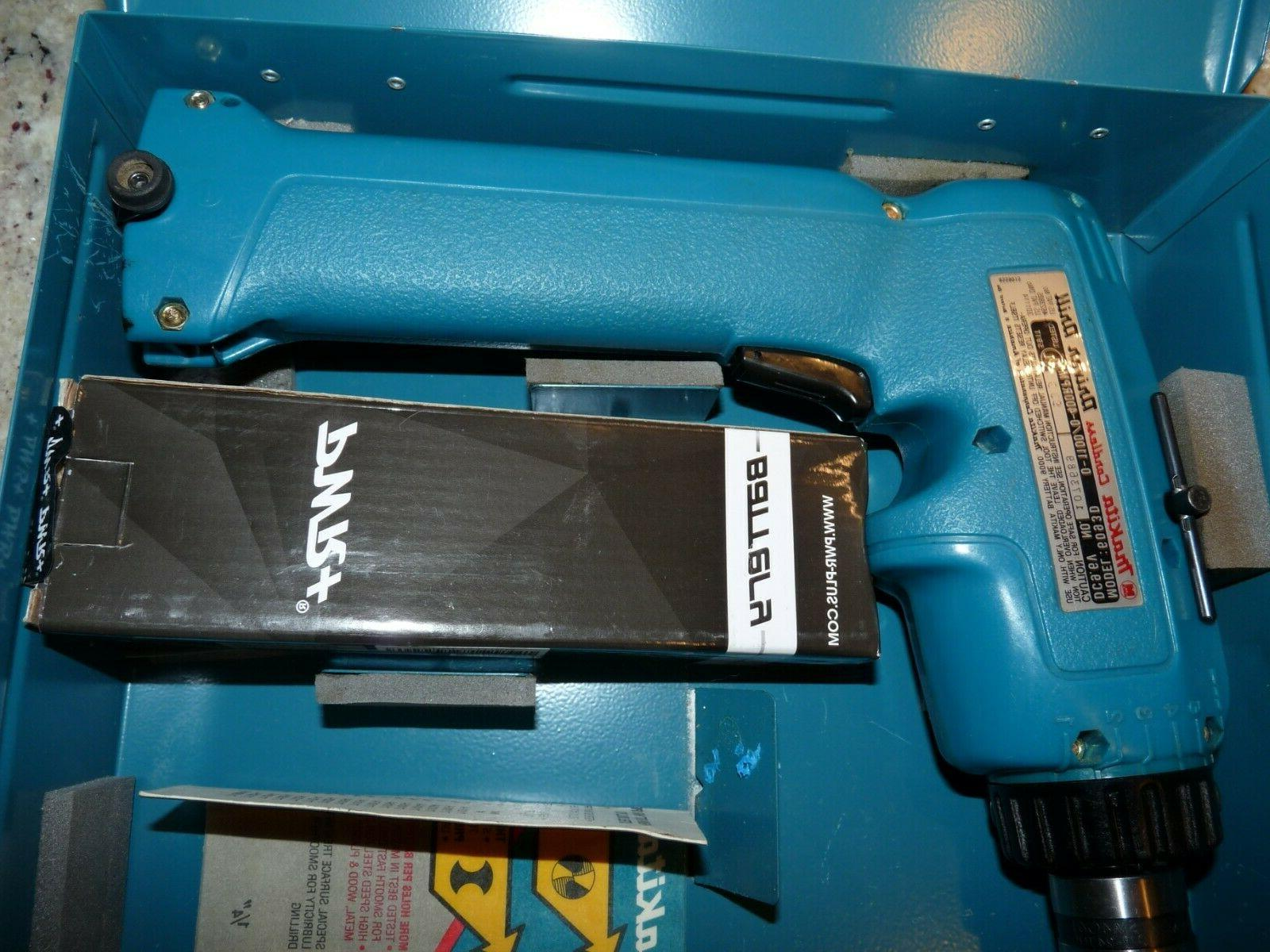 NEW Makita 9.6 Cordless Driver in Case Bit Charger