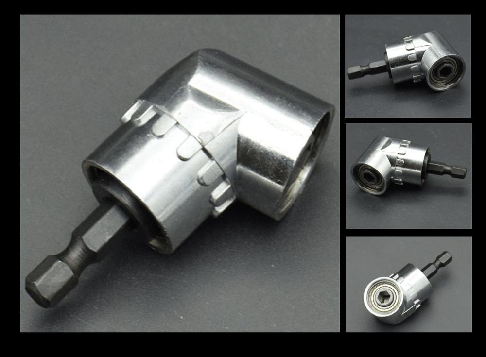 """Right Drill Adapter Flexible Extension & Hold 1/4"""""""
