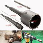Shank Drill Bit 65mm Wall Hole Saw 200mm Rod For Concrete Ce