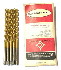 Cleveland Twist Letter N Drill Bit Tin Coated Taper Length D
