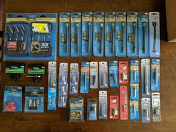 Lot of Various Century Drill & Tool Bits, Adapters, Sets and