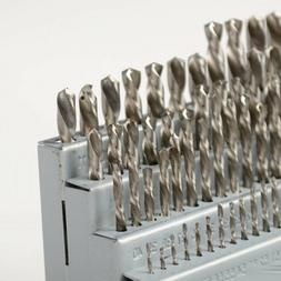 M2 #1 TO #60 HARDENED 60pc HSS NUMBERED DRILL BIT SET WITH M