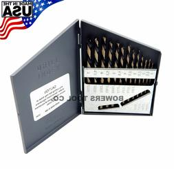 Norseman 13pc Metric HI-Molybdenum M7 Drill Bit Set 1-7mm MA