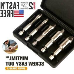 Mintiml Screw Easy Out - Premium Screw Extractor Set Bolt Dr