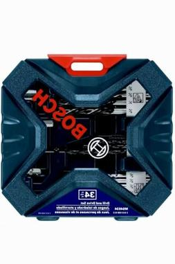 Bosch MS4034 34-Piece Drill and Drive Bit Set Split Tip Easy