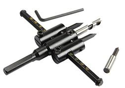 Multi-function 30-120mm Alloy Adjustable Circle Cutter Drill