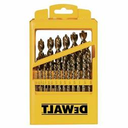DEWALT 29 Piece Pilot Point Twist Drill Bit Assortment with