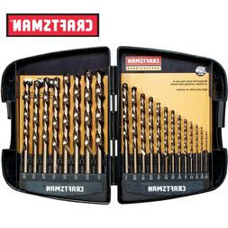 Craftsman Professional 21 pc. Cobalt Drill Bit Set Free Ship