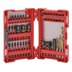 "Screwdriver Bit Set,40 Pieces,1/4"" Shank MILWAUKEE 48-32-400"