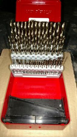 Snap-On DB160C 60 Piece H.S.S. Drill Bit Set. Snap on price