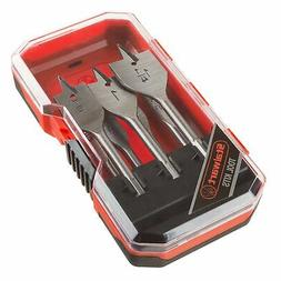 Spade Drill Bit Set, Carbon Steel Build Paddle Bits for High