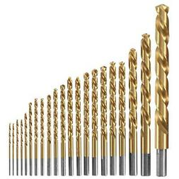 Bosch TI21A Titanium-Coated Metal Drill Bit Set
