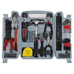 Household Hand Tools, 130 Piece Tool Set by Stalwart, Set In