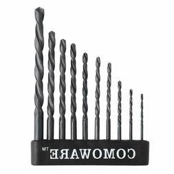 Twist Drill Bit Set- High Speed Steel Jobber Drill Bits, Gen