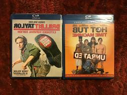 Unrated Hot Tub Time Machine + Drillbit Taylor : Two Blu-ray