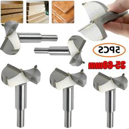 Woodworking Forstner Drill Bits 5pcs Hole Cutter Wood Boring